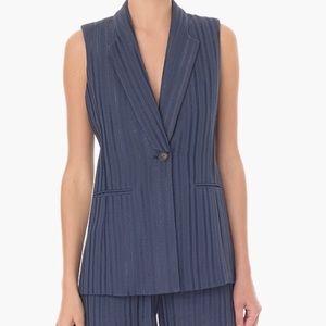 Veronica Beard Tweed Blazer Vest